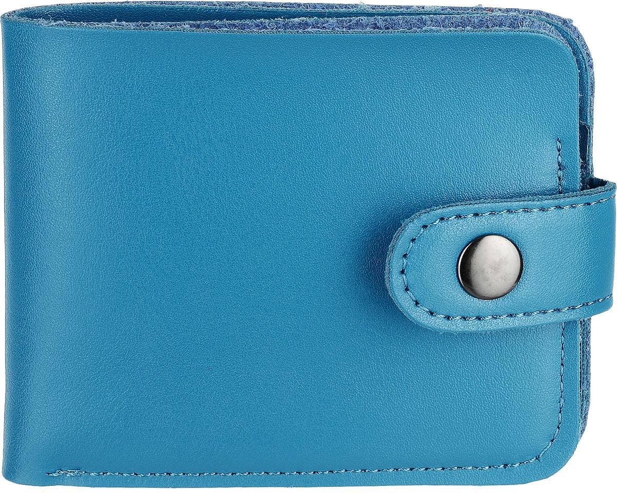 Кошелек Kawaii Factory, цвет: бирюзовый. KW057-000625490300нКлассический складной кошелек от Kawaii Factory, изготовленный из экокожи, прекрасно впишется в любой стиль. Он оснащен одним отделением для купюр, прорезными кармашками для карточек. Аксессуар поместится даже в миниатюрную сумочку.Кошелек на застежке-кнопке отличается строгим эргономичным дизайном и универсальностью.