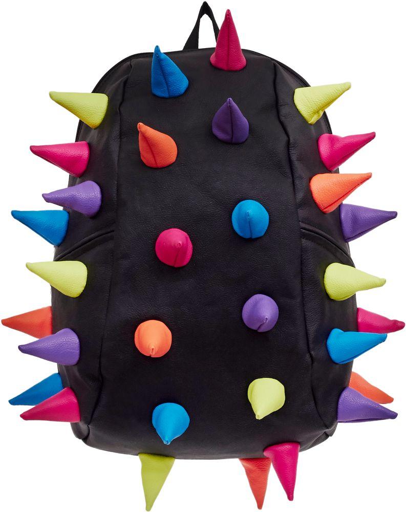Рюкзак городской MadPax Rex 2 Full Mascarade, цвет: черный, 32 лГризлиРюкзаки серии Full отлично подойдут для старшеклассников и взрослых. Яркий, с оригинальным 3D дизайном, ортопедической спинкой он станет незаменимым спутником любого школьника и взрослого.Рюкзак удобен не только для использования в школе, но и отлично подойдет для катания на роликах, скейтах, велосипедах. Он идеален для всех кто любит активный образ жизни.Все 3D элементы мягкие и вы можете не беспокоится о своей безопасности и безопасности окружающих.Ортопедическая спинка поможет избежать искривления позвоночника. Мягкие воздухопроницаемые широкие лямки (6 см) с нагрудным ремнем правильно распределят вес.Особенности:одно основное отделение на молнииотделение для ноутбука до 17мягкие воздухопроницаемые широкие лямки (6 см)нагрудный ременьортопедическая спинка с мягкой обивкойдва боковых кармана на молнии