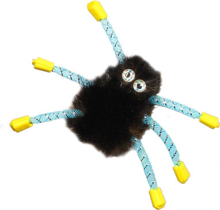 Игрушка для кошек GoSi Паук из норки, 10 см0120710Забавная игрушка в виде паука положительно влияет на нервную систему, повышает мышечный тонус и способствует правильному развитию скелета животного. Пробуждает в кошке инстинкты настоящего охотника. Рекомендуется для активных игр с кошкой.Длина игрушки: 10 см.