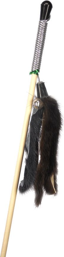 Дразнилка-удочка для кошек GoSi Мышиные хвосты, длина 50 см0120710Игрушка-удочка для кошек GoSi представляет собой деревянную палочку, на конце которой прикреплены хвосты из натурального меха. Игрушка на резинке, хорошо пружинит и отскакивает. Игрушка поможет развить мускулатуру и реакцию кошки, а также удовлетворит её охотничий инстинкт. Способствует балансировке нервной системы, повышению мышечного тонуса, правильному развитию скелета. Рекомендуется для совместных игр хозяина с питомцем.Длина игрушки: 50 см.