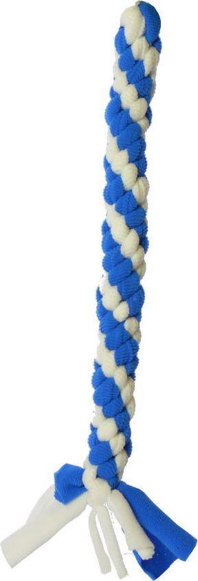 Игрушка жевательная для собак GoSi Bubble Gum. Жгут, 40 см0120710Плетеная игрушка в виде жгута изготовлена из прочного качественного материала и абсолютно безопасна для здоровья животного. Подходит для тяговых игр. Способствует укреплению зубов, жевательных мышц, а также нервной системы животного.Длина игрушки: 40 см.