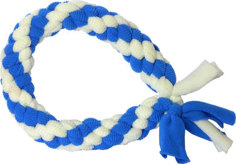 Игрушка жевательная для собак GoSi Bubble Gum. Кольцо, длина 25 см0120710Плетеная игрушка в виде кольца изготовлена из прочного качественного материала и абсолютно безопасна для здоровья животного. Подходит для тяговых игр. Способствует укреплению зубов, жевательных мышц, а также нервной системы животного.Длина игрушки: 25 см.
