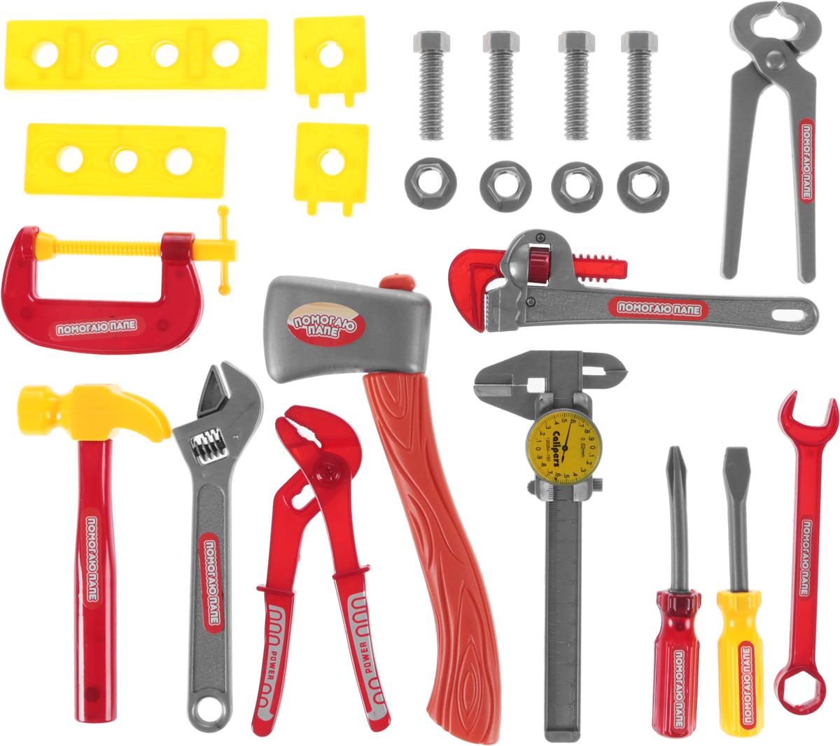 Набор инструментов Помогаю папе, 23 предмета