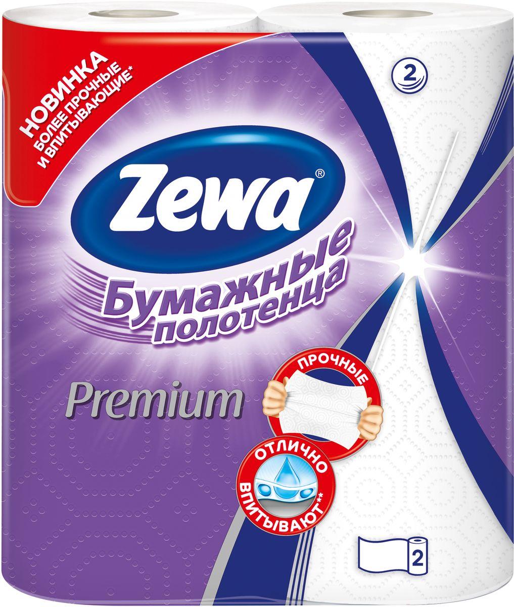 Полотенца бумажные Zewa Premium, двухслойные, цвет: белый, 2 рулона787502Двухслойные бумажные полотенца Zewa Premium, выполненные из целлюлозы, подарят превосходный комфорт и ощущение чистоты и свежести. Имеют высокую впитываемость. Идеально подходят для ежедневного использования. Количество рулонов: 2 шт.Количество листов в рулоне: 55.Количество слоев: 2.Размер листа: 23 х 23,6 см.