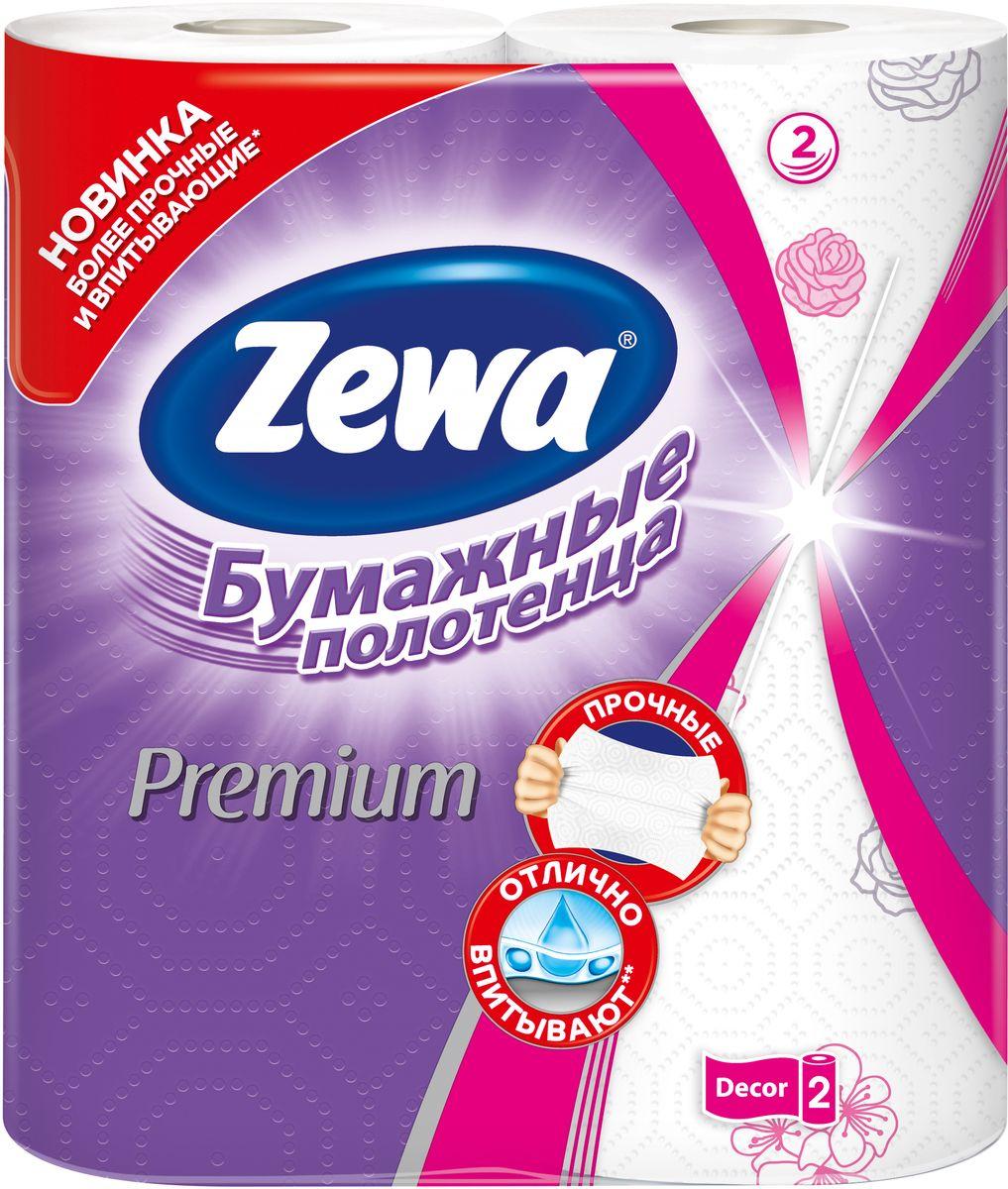 Бумажные полотенца Zewa Premium Decor, 2 рулона787502Белые 2-х слойные бумажные полотенца улучшенного качества с цветным рисунком2 рулона в упаковкеСостав: целлюлозаПроизводство: Россия