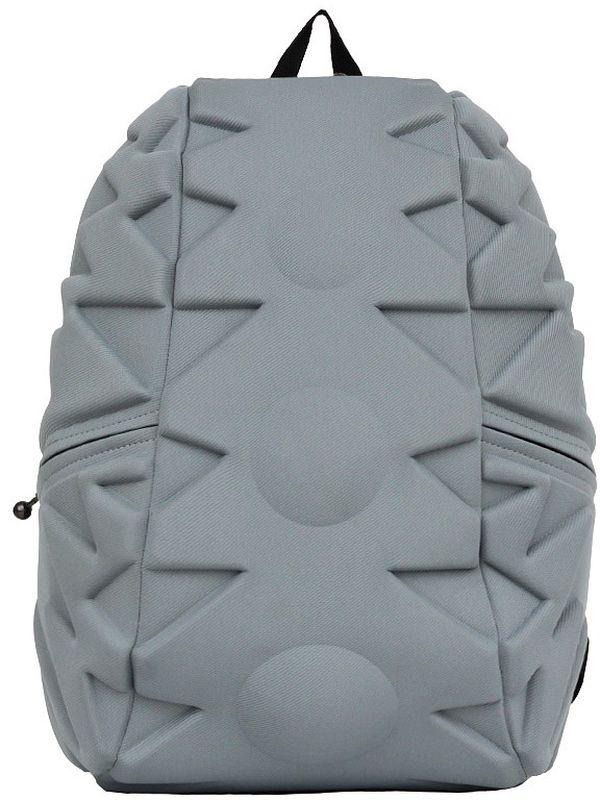Рюкзак городской MadPax Exo Full, цвет: серый, 32 л332515-2800Стильный и практичный рюкзак MadPax Exo Full, уместный в ритме большого города. Основное отделение закрывается на молнию. Внутри изделия есть отделение для ноутбука с максимальным размером диагонали 17 дюймов. По бокам - два дополнительных кармана на молнии. Модель помимо лямки для переноски в руке, мягких и широких регулируемых бретелей снабжена фиксацией на груди. Полностью вентилируемая и ортопедическая спинка создаёт дополнительный комфорт вашей спине.