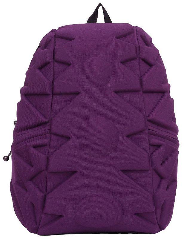Рюкзак городской MadPax Exo Full, цвет: фиолетовый, 32 лKAA24484642Стильный и практичный рюкзак MadPax Exo Full, уместный в ритме большого города. Основное отделение закрывается на молнию. Внутри изделия есть отделение для ноутбука с максимальным размером диагонали 17 дюймов. По бокам - два дополнительных кармана на молнии. Модель помимо лямки для переноски в руке, мягких и широких регулируемых бретелей снабжена фиксацией на груди. Полностью вентилируемая и ортопедическая спинка создаёт дополнительный комфорт вашей спине.