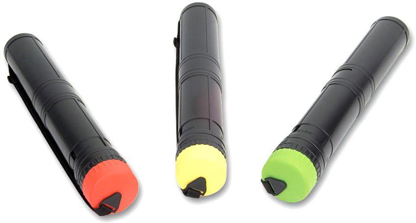 Brunnen Тубус раздвижной, цвет: черный, красныйFS-36054Тубус Brunnen предназначен для хранения и переноса чертежей и рисунков больших форматов. Он выполнен из плотного полипропилена черного цвета, а крышка - из цветного. Телескопическая конструкция позволяет размещать в тубусе листы формата А2. Модель снабжена регулируемой ручкой, что облегчает ее переноску. Тубус Brunnen - отличное приспособление, которое пригодится как младшим и старшим школьникам, так и студентам. Размер: 44,6 x 7,6 x 5,8 см.
