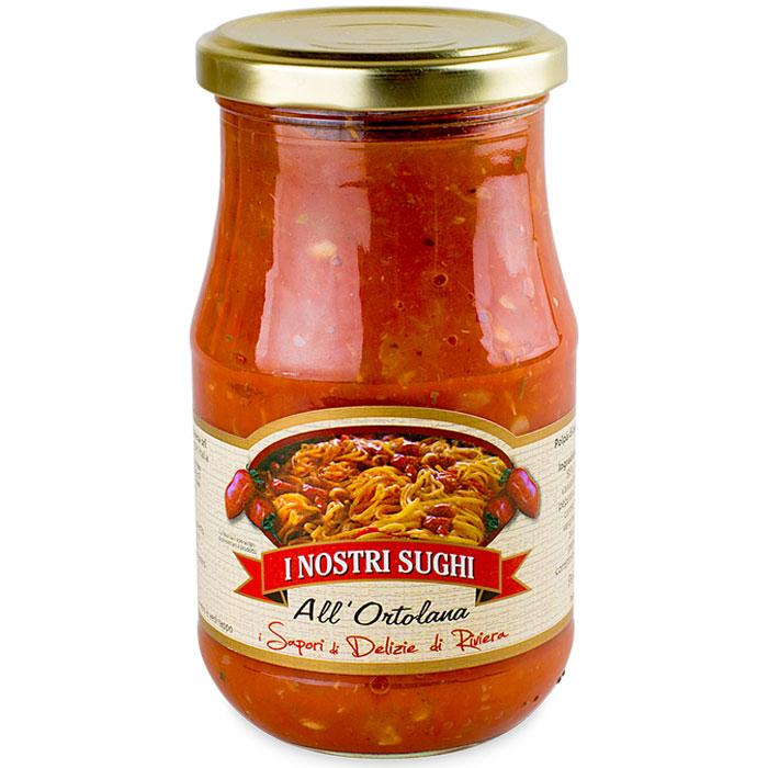 I Nostri Sughi cоус с базиликом томатный к пасте, 350 г0120710Томатный соус, безусловно, один из самых популярных в мире. Эти соусы созданы из свежих и натуральных продуктов, спелых, сочных овощей. Без консервантов и красителей исключительно натуральный состав, приготовленный итальянскими мастерами. Широкий ассортимент, позволяет разнообразить стол и наслаждаться новыми вкусами. Эти соусы не нужно готовить, достаточно добавить их к пасте и изысканное блюдо готово!