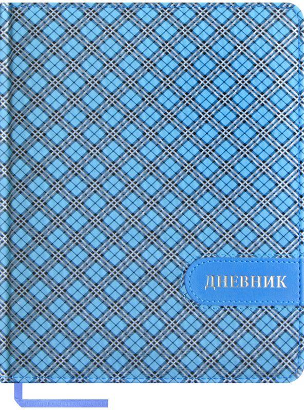 Спейс Дневник школьный Стиль Полосы на голубом -  Школа