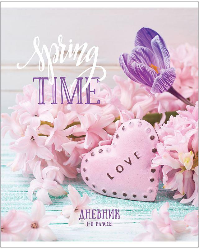 Спейс Дневник школьный Милые цветы