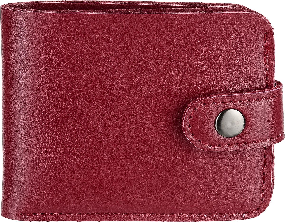 Кошелек Kawaii Factory, цвет: красный. KW057-000628S98156Классический складной кошелек от Kawaii Factory, изготовленный из экокожи, прекрасно впишется в любой стиль. Он оснащен одним отделением для купюр, прорезными кармашками для карточек. Аксессуар поместится даже в миниатюрную сумочку.Кошелек на застежке-кнопке отличается строгим эргономичным дизайном и универсальностью.