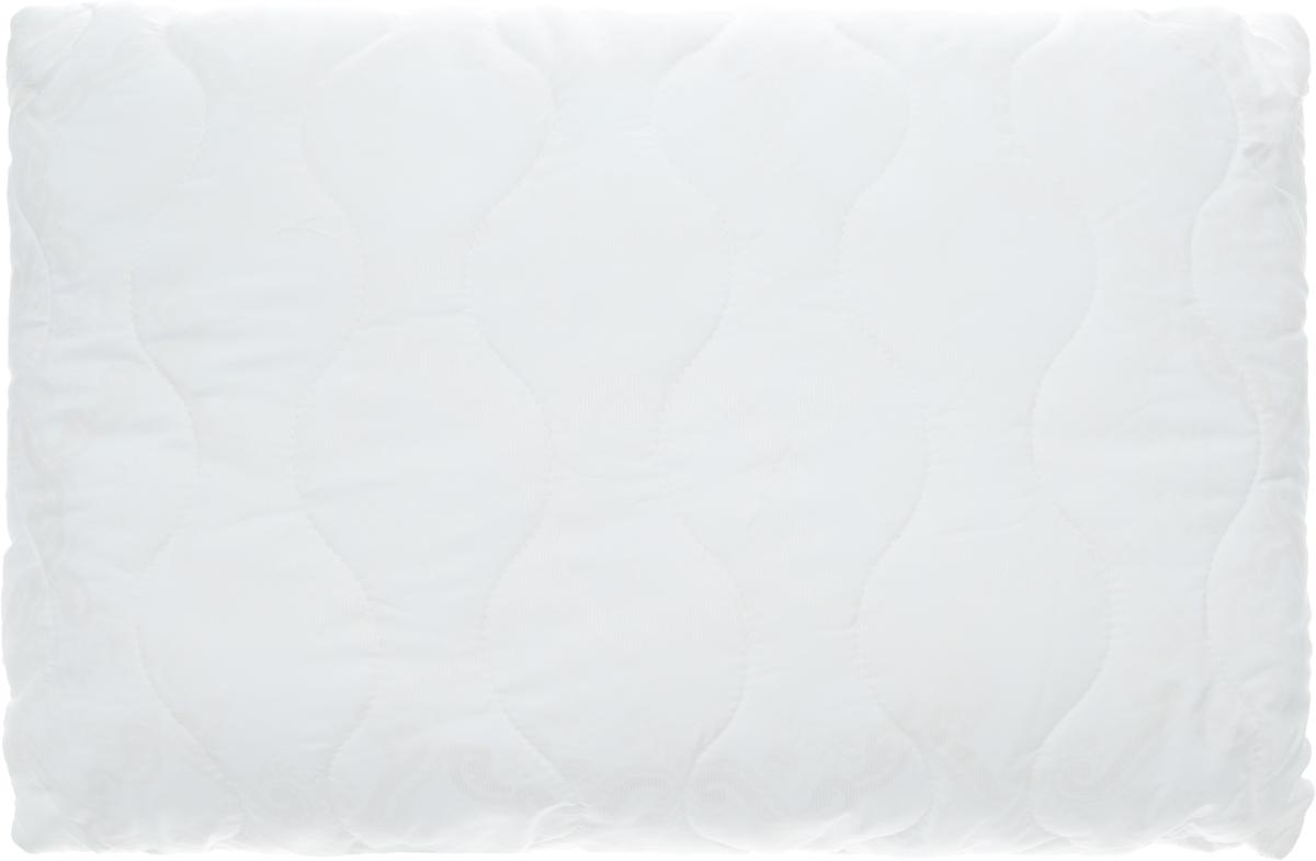 Подушка Ecotex Бамбук - Комфорт, наполнитель: полиэстер, 50 х 70 см531-103Подушка Ecotex Бамбук - Комфорт - это удивительный комфорт и актуальный стиль. Чехол подушки выполнен из микрофибры (100% полиэстер), наполнитель чехла - бамбуковое волокно. Наполнитель подушки - полое силиконизированное волокно Fiber (полиэстер). Подушка имеет классическую квадратную форму и изысканный внешний вид. Важные потребительские свойства подушки Ecotex Бамбук - Комфорт:- антибактериальные и антистатические свойства,- не вызывает раздражения и аллергии,- регулирует влажность и теплообмен,- сохраняет свои первоначальные свойства и форму после многократной эксплуатации.Оптимальный микроклимат во время сна, бодрость и свежесть каждого утра - это комфорт, которого вы заслуживаете!