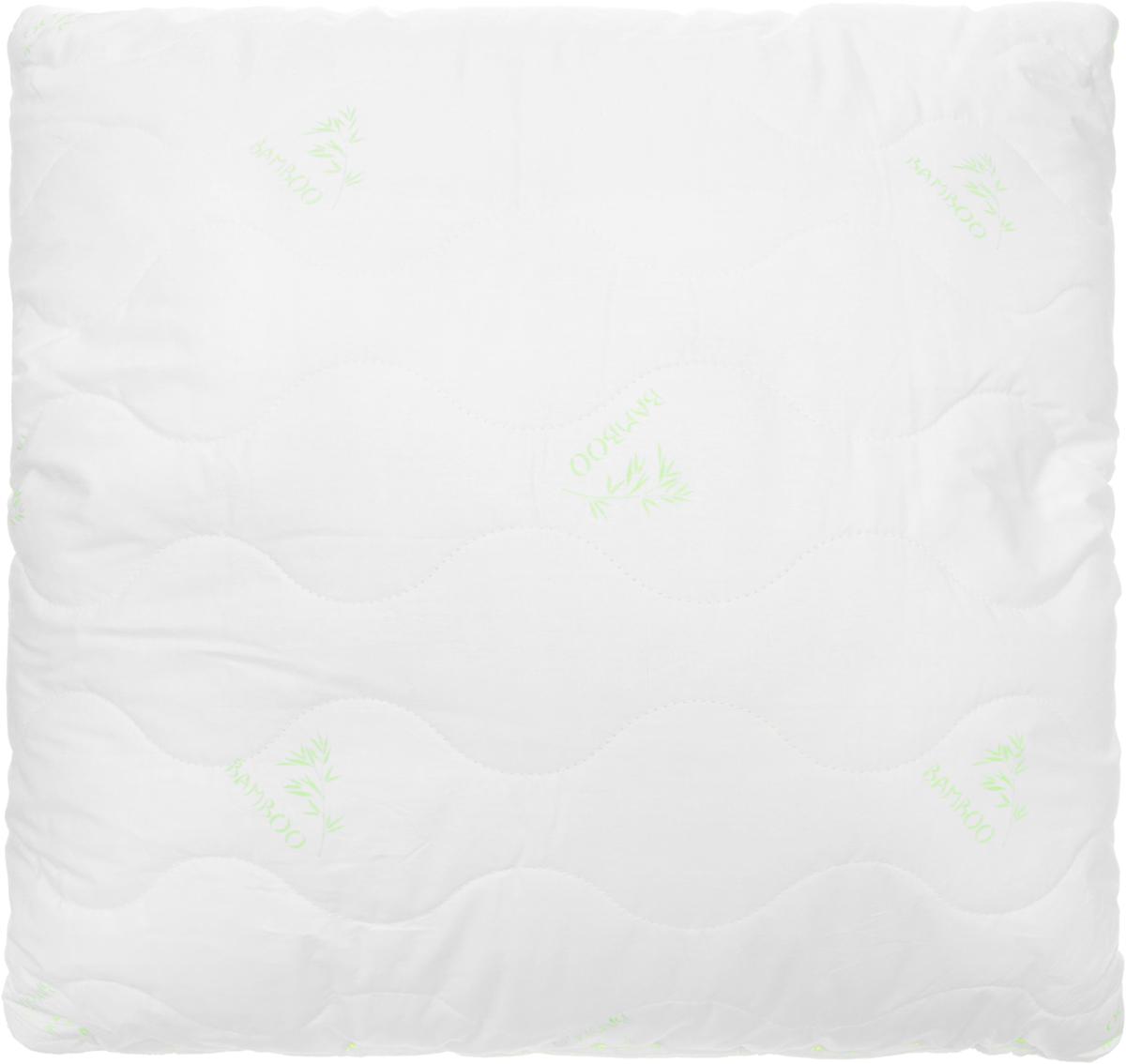 Подушка Ecotex Бамбук - Премиум, наполнитель: пух, полиэстер, 68 х 68 смU210DFПодушка Ecotex Бамбук - Премиум - это удивительный комфорт и актуальный стиль. Чехол подушки выполнен из 100% хлопка. Наполнитель чехла - волокно на основе бамбука, наполнитель подушки - микроволокно DownFill (Лебяжий пух, полиэстер). Подушка имеет классическую квадратную форму и изысканный внешний вид. Важные потребительские свойства подушки Ecotex Бамбук - Премиум:- гипоаллергенность и экологичность;- воздухопроницаемость;- долговечность;- легкость в уходе: легко стирается, быстро сохнет.Оптимальный микроклимат во время сна, бодрость и свежесть каждого утра - это комфорт, которого вы заслуживаете!