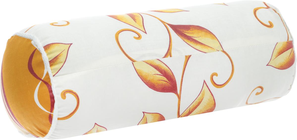 Подушка декоративная Ecotex Бочонок, наполнитель: полиэстер, цвет: белый, коричневый, бежевый, 36 х 17 х 17 смCLP446Декоративная подушка Ecotex Бочонок прекрасно дополнит интерьер спальни или гостиной. Чехол подушки выполнен из полиэстера. Внутри находится мягкий наполнитель - 100% полиэстер. Благодаря молнии, чехол легко снимается.Основные особеннности подушки Ecotex Бочонок:- экологичность;- гигиеничность: не впитывает запахи и пыль;- теплоизоляция и воздухопроницаемость;- долговечность: в течение долгого времени сохраняет объем и упругость;- легкость в уходе: легко стирается, быстро сохнет.