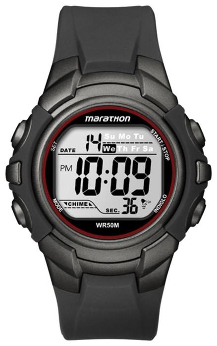 Наручные часы мужские Timex Marathon, цвет: черный. T5K642BM8434-58AEНаручные мужские часы Timex Marathon выполнены из высококачественных материалов. Модель с кварцевым механизмом, пластиковым корпус 40 мм, акриловым стеклом и силиконовым ремешком. Дополнительные функции: подсветка INDIGLO, секундомер, 2 часовых пояса, будильник, дата, водозащита: 5 АТМ.
