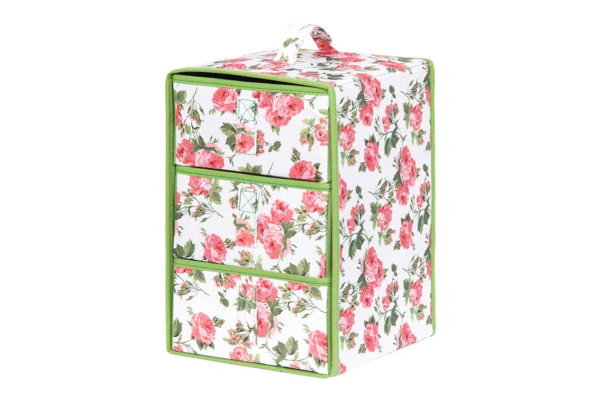 Кофр для хранения вещей EL Casa Розовый рассвет, складной, 21 х 21 х 31 см74-0060Кофр предназначен для хранения различных вещей и состоит из 3 вместительных выдвижных секций. Такой необычный и яркий комод надежно защитит вещи от загрязнений, пыли и моли, а также позволит вам хранить их компактно и с удобством.