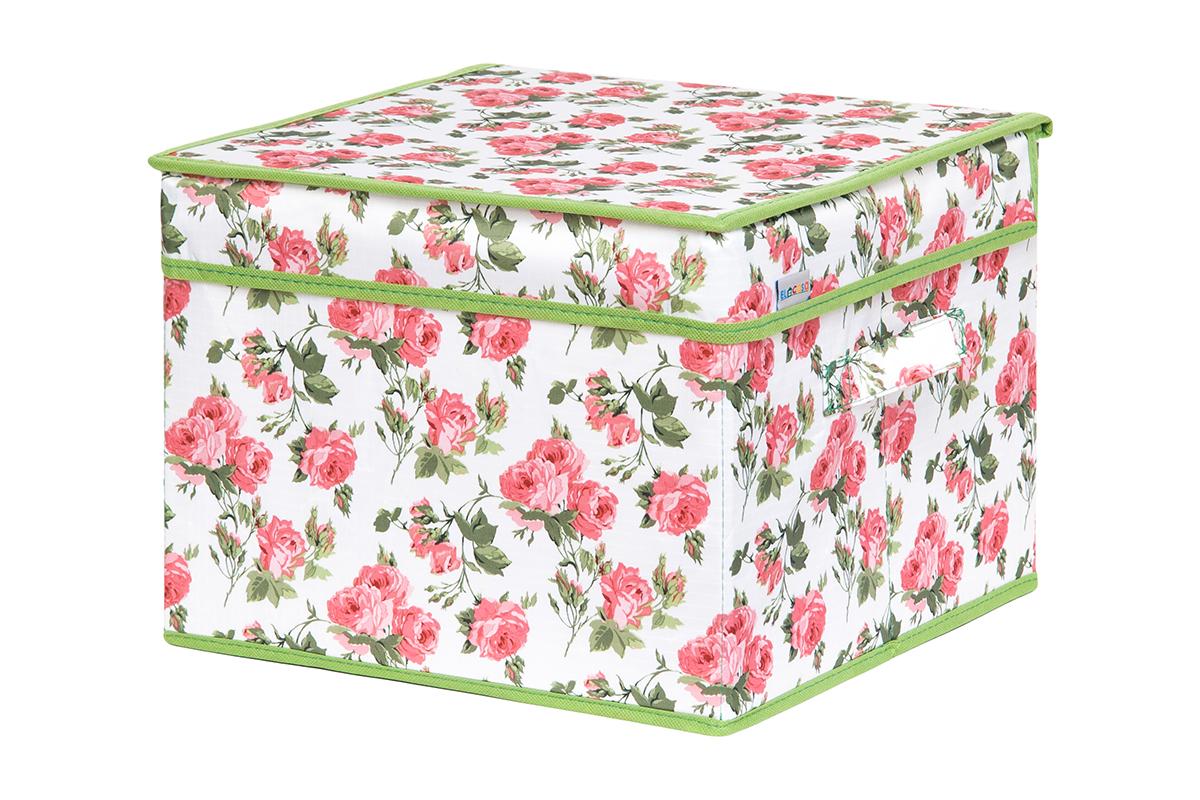 Кофр для хранения вещей EL Casa Розовый рассвет, складной, 32 х 32 х 24 см1004900000360Кофр для хранения представляет собой закрывающуюся крышкой коробку жесткой конструкции, благодаря наличию внутри плотных листов картона. Специально предназначен для защиты Вашей одежды от воздействия негативных внешних факторов: влаги и сырости, моли, выгорания, грязи. Благодаря оригинальному дизайну кофр будет гармонично смотреться в любом интерьере.