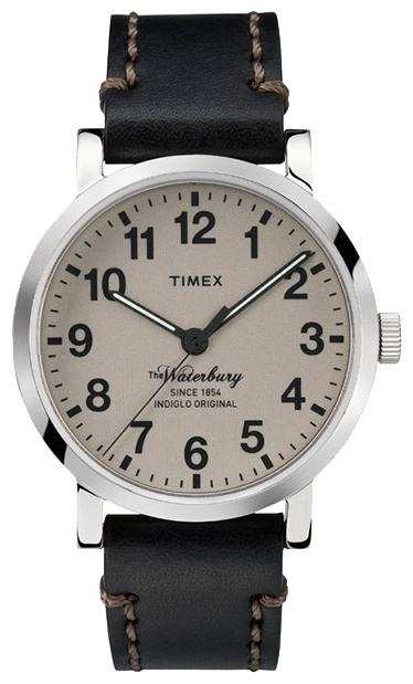 Наручные часы мужские Timex Trend Originals, цвет: серебряный, коричневый. TW2P58800BM8434-58AEМеханизм кварцевый, корпус: сталь, 40 мм, стекло минеральное, ремешок: кожаный, доп. функции: подсветка INDIGLO, водозащита: 5 АТМ