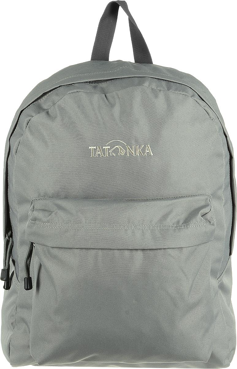 Рюкзак городской Tatonka Hunch Pack, цвет: теплый серый, 22 лKAA24484640Tatonka Hunch Pack - практичный городской рюкзак. Рюкзак имеет одно большое отделение. Для всего, что не помещается в основное отделение или должно находиться под рукой, рюкзак Tatonka Hunch Pack располагает передним накладным карманом на молнии. Спинка удобно прилегает и обеспечивает комфорт при ношении. Лямки обеспечивают комфорт даже в жаркую погоду.