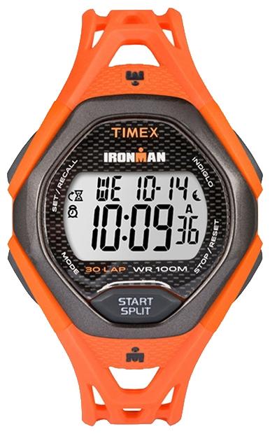 Наручные часы Timex Ironman, цвет: красный. TW5M10500BP-001 BKКорпус 42 мм черн. Цв. из закаленной резины; электронный циферблат; хезалитовое стекло; будильник; секундомер с памятью на 30 кругов/подходов; таймер обратного отсчета; подсветка INDIGLO с ночным режимом; водозащита 10 ATM