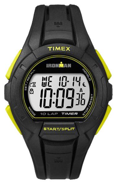 Наручные часы Timex Ironman, цвет: черный. TW5K93800BM8434-58AEНаручные электронные часы Timex Ironman выполнены из высококачественных материалов. Модель c каучуковым браслетом дополнена секундомером с функцией lap memory 10, таймером обратного отсчета, будильником, водозащитой 10 АТМ, подсветкой INDIGLO.
