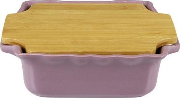 Форма для выпечки Appolia Cook&Stock, прямоугольная, с доской, цвет: светло-сливовый, 1,7 лFS-91909В оригинальной коллекции Cook&Stoock присутствуют мягкие цвета трех оттенков. Закругленные углы облегчают чистку. Легко использовать. Компактное хранение. В комплекте натуральные крышки из бамбука, которые можно использовать в качестве подставки, крышки и разделочной доски. Прочная жароустойчивая керамика экологична и изготавливается из высококачественной глины. Прочная глазурь устойчива к растрескиванию и сколам, не содержит свинца и кадмия. Глина обеспечивает медленный и равномерный нагрев, деликатное приготовление с сохранением всех питательных веществ и витаминов, а та же долго сохраняет тепло, что удобно при сервировке горячих блюд.