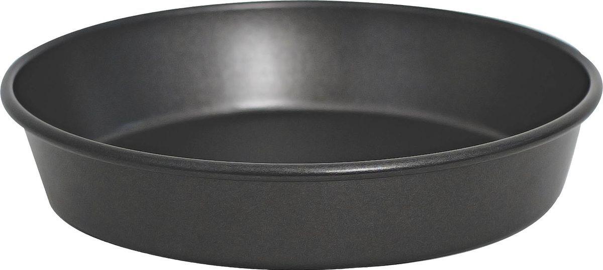 Форма для выпечки Salt&Pepper Heavy Bake, 25 х 4,5 смFS-91909Корпус формы для выпечки выполнен из углеродистой стали для энергосберегающего и равномерного прогревания, что обеспечивает однородность выпечки. Внутреннее покрытие -2-х слойное антипригарное, которое не содержит ПФОК, что позволяет легко извлечь выпечку из формы. Толстые стенки корпуса предотвращают деформацию. Легко моется. Подходит для использования в духовом шкафу. Рекомендуется мыть вручную. Рекомендуется использовать деревянные и силиконовые аксессуары.