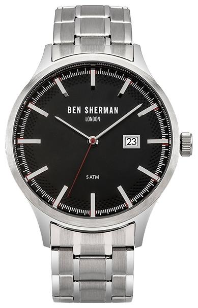 Zakazat.ru Часы наручные мужские Ben Sherman, цвет: черный, серебряный. WB056BSMA