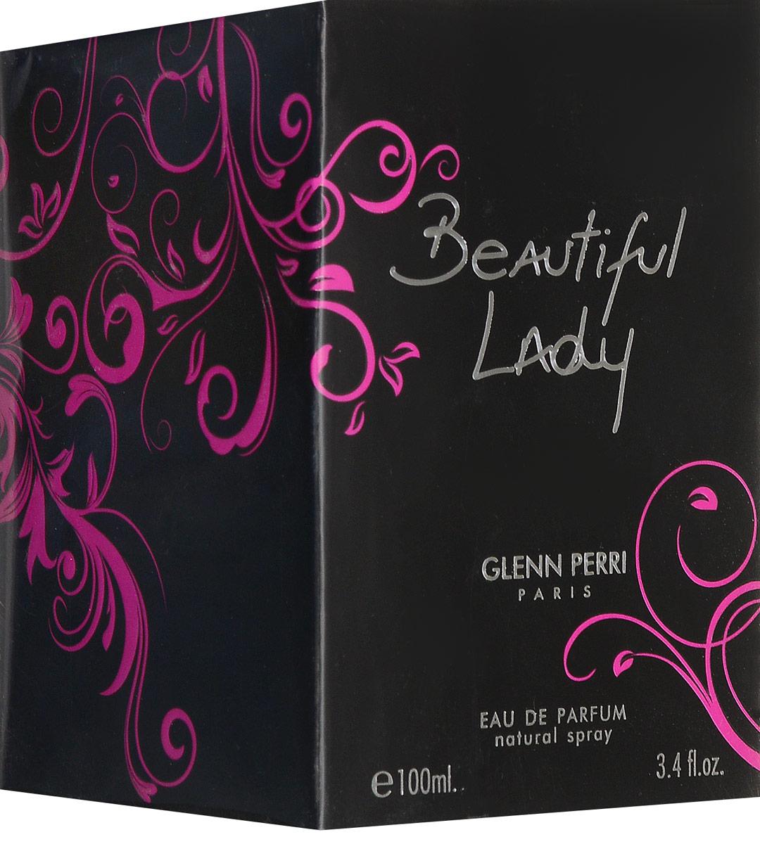 Geparlys Парфюмерная вода Beautiful Lady for women Линии Parfums Glenn Perri, 100 мл3700134406705С неординарной композицией данного аромата вы начнете нравиться самой себе, а окружающие и вовсе признают в вас настоящую королеву, если не богиню, сошедшую с небес. Романтичный стиль, создаваемый этой композицией гармонично сольется с вашим образом, благодаря роскошному букету данного аромата. Основная парфюмерная композиция: пион, сандал, пачули, фиалка, магнолия.
