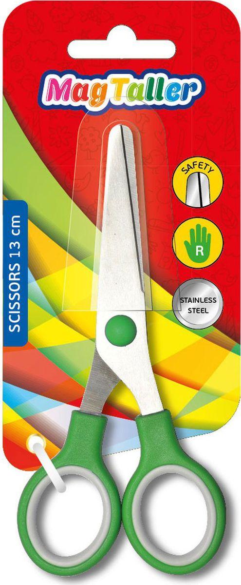 MagTaller Ножницы детские Klass 13 смFS-54100Скругленные безопасные лезвия из нержавеющей стали, обрезиненные ручки, ассортимент цветов