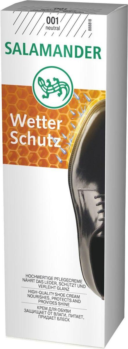 Крем для обуви Salamander. Wetter Schutz, цвет: нейтральный, 75 млт0001371_губкаSalamander Крем Wetter Schutz обновляет цвет и придает блеск изделиям из гладкой кожи. Интенсивно питает, сохраняя кожу мягкой и эластичной. Обладает водоотталкивающими свойствами.