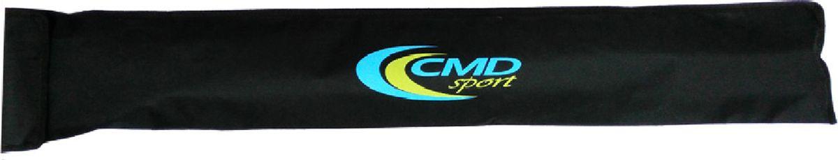 Чехол для палок для скандинавской ходьбы CMD Sport, цвет: черный, 90 смCMD-bag-blackВодонепроницаемый чехол CMD Sport для телескопических палок. Чехол подойдет для двух- и трех- секционных палок разных производителей. Сверху чехол закрывается клапаном на липучке. На обратной стороне предусмотрена лямка для переноски на плече. На время тренировки чехол можно убрать в карман куртки или отделение рюкзака.