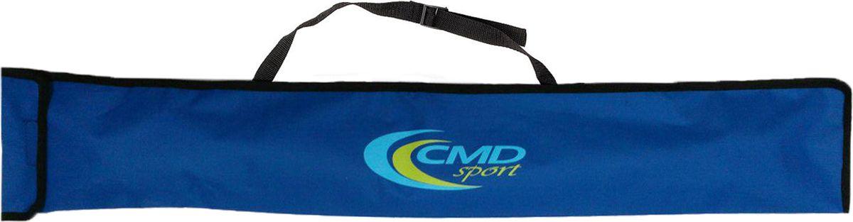 Чехол для палок для скандинавской ходьбы CMD Sport, цвет: синий, 90 смCMD-bag-blueВодонепроницаемый чехол CMD Sport для телескопических палок. Чехол подойдет для двух- и трех- секционных палок разных производителей. Сверху чехол закрывается клапаном на липучке. На обратной стороне предусмотрена лямка для переноски на плече. На время тренировки чехол можно убрать в карман куртки или отделение рюкзака.