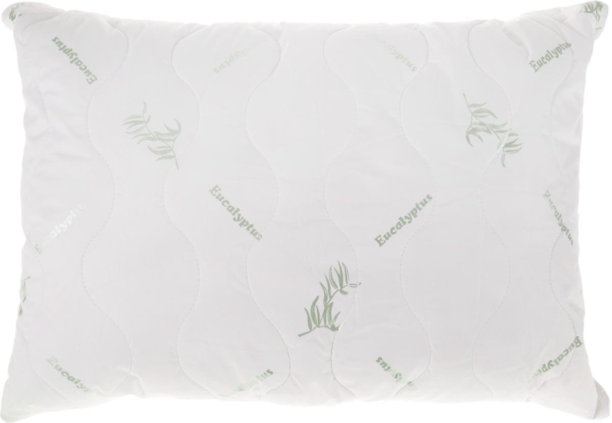 Подушка Ecotex Eucalyptus, наполнитель: эвкалиптовое волокно, полиэстер, 50 х 70 смES-412Подушка Ecotex Eucalyptus подарит здоровый и комфортный сон, окутывая вас свежестью и теплом. Чехол подушки выполнен из перкаля (100% хлопка) на основе эвкалиптового волокна. Наполнитель - микроволокно DownFill (100% полиэстер). Особенности изделия: - экологичность;- обеспечивает прекрасный теплообмен, не поглощает посторонние запахи;- гигиеничность;- благотворное воздействие на кожу;- антистресс эффект;- сочетание мягкости и объемности.