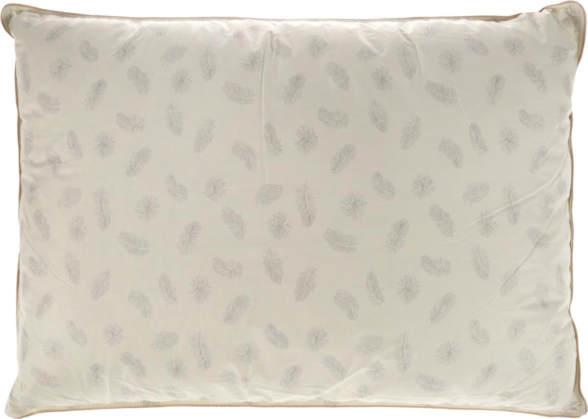 Подушка Ecotex Эдда, наполнитель: пух, 50 х 70 смES-414Подушка Ecotex Эдда обеспечивает покой, уют и здоровый сон. Чехол подушки выполнен из натуральной тиковой ткани (100% хлопок). В качестве наполнителя используется пух первой категории. Благодаря своим уникальным теплозащитным свойствам пух считается одним из ценнейших наполнителей. Сочетая в себе мягкость и упругость, он создает максимальный комфорт во время сна. Преимущества: - экологичность, - воздухопроницаемость, - мягкость, упругость и легкость, - исключительная теплоизоляция.Масса наполнителя: 1,1 кг.