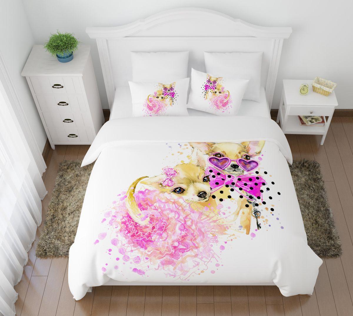 Комплект белья Сирень  Гламур, 2-спальный, наволочки 50х70S03301004Комплект постельного белья Сирень выполнен из прочной и мягкой ткани. Четкий и стильный рисунок в сочетании с насыщенными красками делают комплект постельного белья неповторимой изюминкой любого интерьера.Постельное белье идеально подойдет для подарка. Идеальное соотношение смешенной ткани и гипоаллергенных красок - это гарантия здорового, спокойного сна. Ткань хорошо впитывает влагу, надолго сохраняет яркость красок.В комплект входят: простынь, пододеяльник, две наволочки. Постельное белье легко стирать при 30-40°С, гладить при 150°С, не отбеливать. Рекомендуется перед первым использованием постирать.УВАЖАЕМЫЕ КЛИЕНТЫ! Обращаем ваше внимание, что цвет простыни, пододеяльника, наволочки в комплектации может немного отличаться от представленного на фото.
