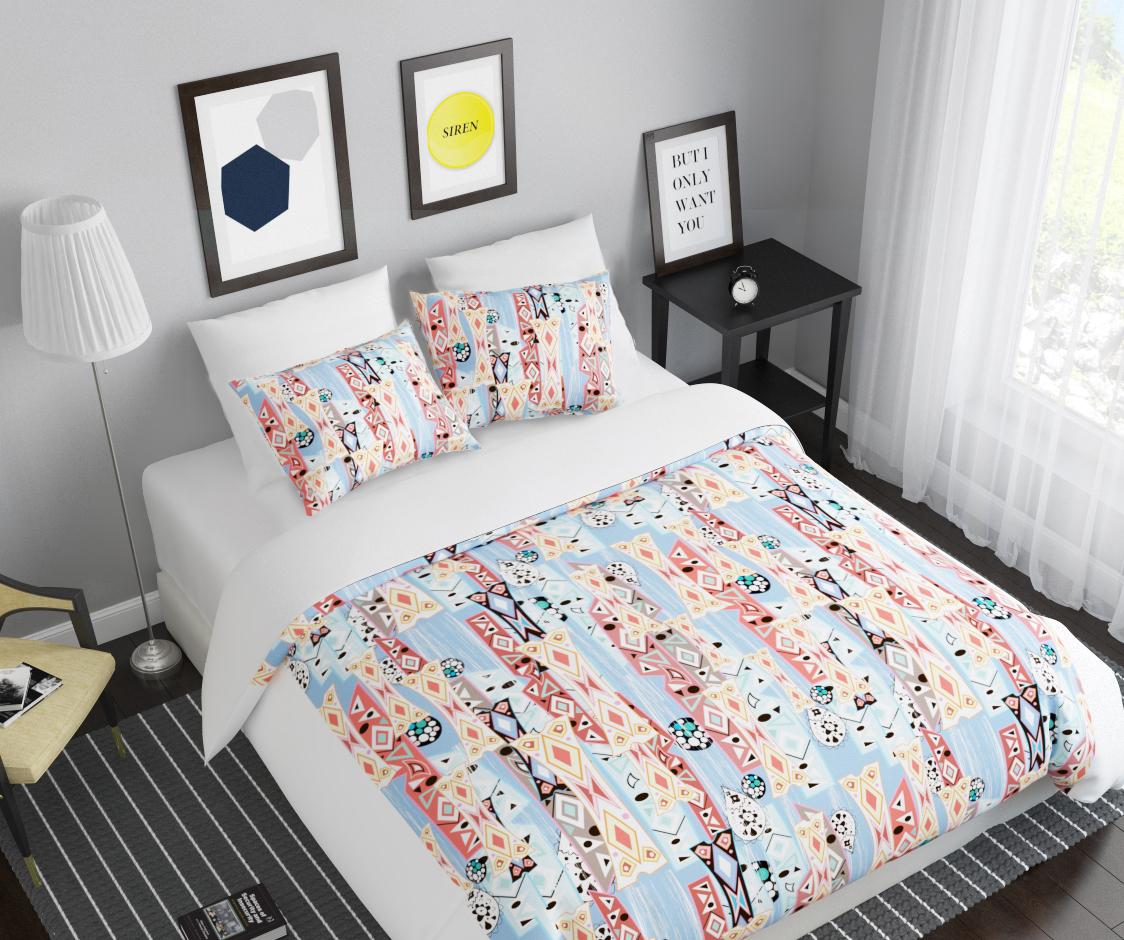 Комплект белья Сирень Калейдоскоп, 2-спальный, наволочки 50х704080Комплект постельного белья Сирень выполнен из прочной и мягкой ткани. Четкий и стильный рисунок в сочетании с насыщенными красками делают комплект постельного белья неповторимой изюминкой любого интерьера.Постельное белье идеально подойдет для подарка. Идеальное соотношение смешенной ткани и гипоаллергенных красок - это гарантия здорового, спокойного сна. Ткань хорошо впитывает влагу, надолго сохраняет яркость красок.В комплект входят: простынь, пододеяльник, две наволочки. Постельное белье легко стирать при 30-40°С, гладить при 150°С, не отбеливать. Рекомендуется перед первым использованием постирать.УВАЖАЕМЫЕ КЛИЕНТЫ! Обращаем ваше внимание, что цвет простыни, пододеяльника, наволочки в комплектации может немного отличаться от представленного на фото.
