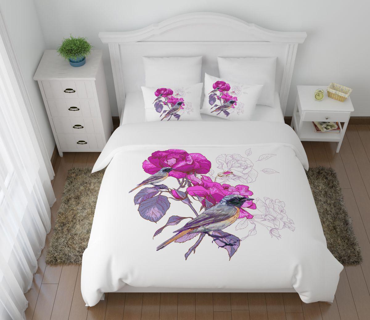 Комплект белья Сирень Вилюта, 2-спальный, наволочки 50х7030.07.31.0427Комплект постельного белья Сирень выполнен из прочной и мягкой ткани. Четкий и стильный рисунок в сочетании с насыщенными красками делают комплект постельного белья неповторимой изюминкой любого интерьера.Постельное белье идеально подойдет для подарка. Идеальное соотношение смешенной ткани и гипоаллергенных красок - это гарантия здорового, спокойного сна. Ткань хорошо впитывает влагу, надолго сохраняет яркость красок.В комплект входят: простыня, пододеяльник, две наволочки. Постельное белье легко стирать при 30-40°С, гладить при 150°С, не отбеливать. Рекомендуется перед первым использованием постирать.УВАЖАЕМЫЕ КЛИЕНТЫ! Обращаем ваше внимание, что цвет простыни, пододеяльника, наволочки в комплектации может немного отличаться от представленного на фото.