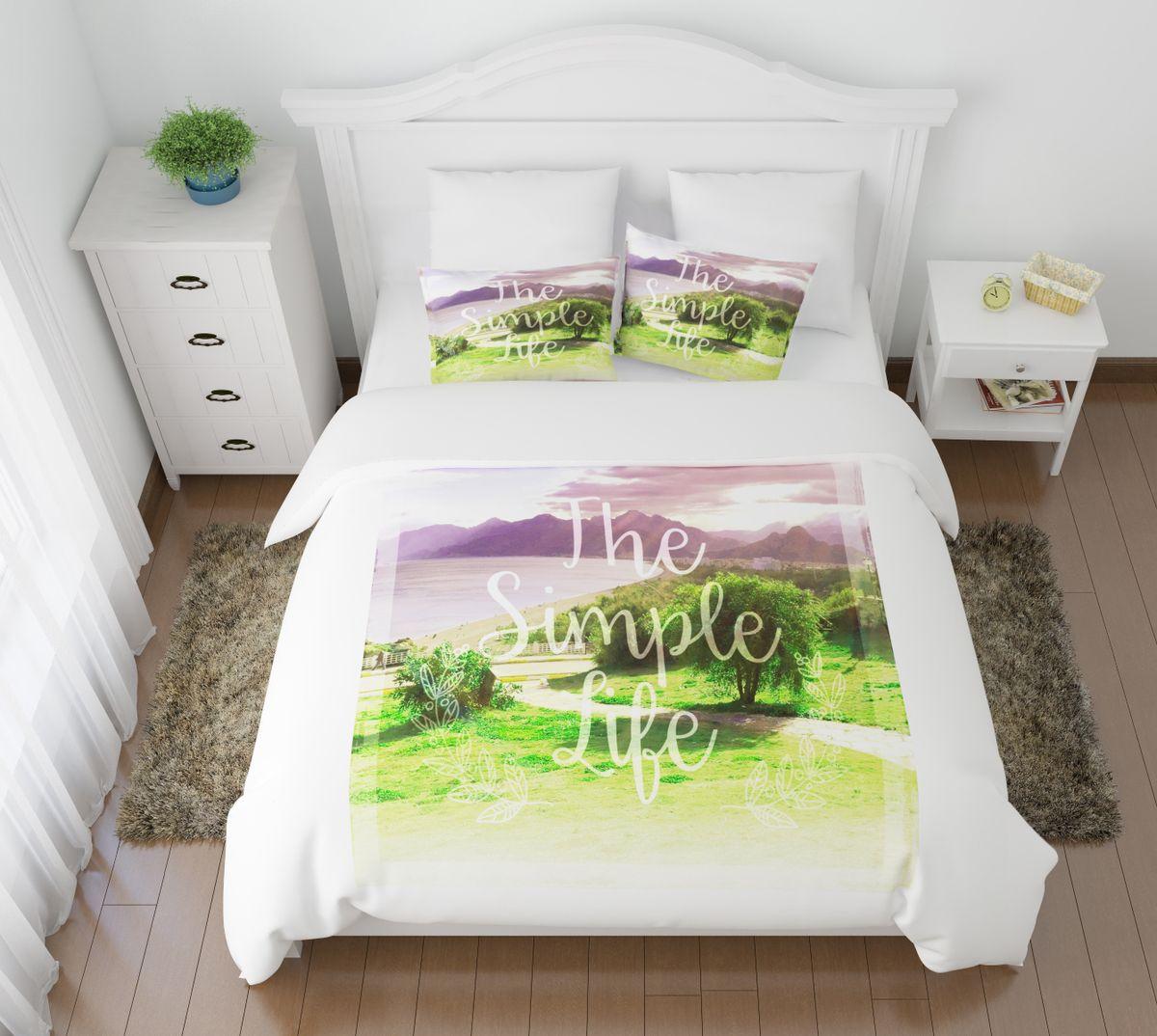 Комплект белья Сирень Простая жизнь, 2-спальный, наволочки 50х70FA-5125 WhiteКомплект постельного белья Сирень выполнен из прочной и мягкой ткани. Четкий и стильный рисунок в сочетании с насыщенными красками делают комплект постельного белья неповторимой изюминкой любого интерьера.Постельное белье идеально подойдет для подарка. Идеальное соотношение смешенной ткани и гипоаллергенных красок - это гарантия здорового, спокойного сна. Ткань хорошо впитывает влагу, надолго сохраняет яркость красок.В комплект входят: простынь, пододеяльник, две наволочки. Постельное белье легко стирать при 30-40°С, гладить при 150°С, не отбеливать. Рекомендуется перед первым использованием постирать.УВАЖАЕМЫЕ КЛИЕНТЫ! Обращаем ваше внимание, что цвет простыни, пододеяльника, наволочки в комплектации может немного отличаться от представленного на фото.