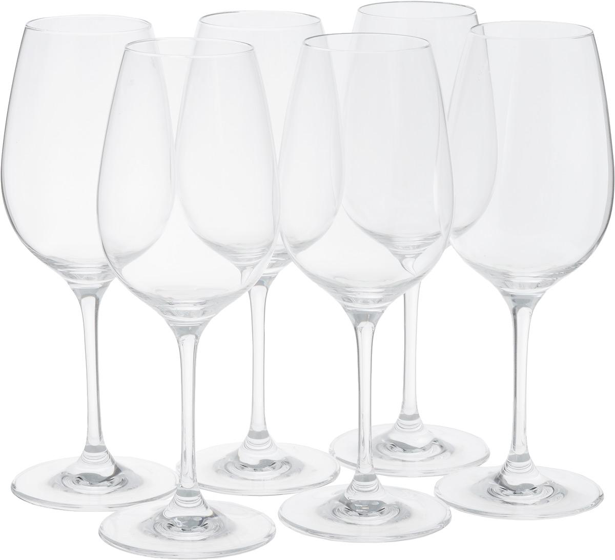 Набор бокалов для красного вина Tescoma Sommelier, 450 мл, 6шт4500175Набор Tescoma Sommelier состоит из 6 бокалов, выполненных из прочного натрий-кальций-силикатного стекла. Изделия оснащены высокими ножками и предназначены для подачи красного вина. Они сочетают в себе элегантный дизайн и функциональность. Набор бокалов Tescoma Sommelier прекрасно оформит праздничный стол и создаст приятную атмосферу за романтическим ужином. Такой набор также станет хорошим подарком к любому случаю. Можно мыть в посудомоечной машине.Высота бокала: 22,5 см.Диаметр бокала (по верхнему краю): 5,5 см.