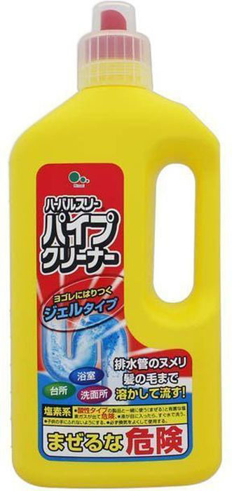 Очиститель для труб Mitsuei 0.8 л391602Средство великолепно справляется с засорами в сливных трубах - раковинах, в ванне и на кухне. Растворяет любые загрязнения на своем пути. Благодаря антибактериальному и отбеливающему свойствам, поддерживает чистоту и стерильность труб долгое время. Эффективно удаляет неприятные запахи, оставляя приятный аромат чистоты.