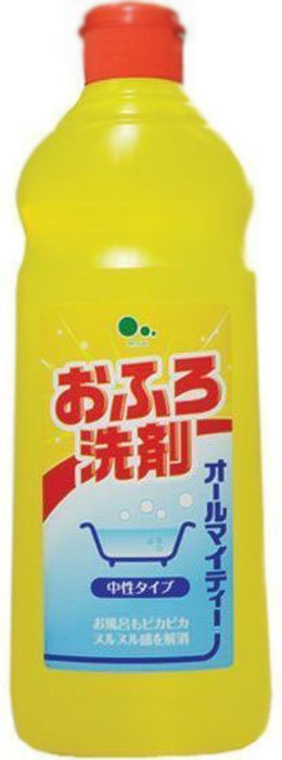 Средство для чистки ванн Mitsuei All Mighty, без аромата, 500 мл391602Дезинфицирует и очищает поверхность ванны. Средство прекрасно справляется с трудновыводимой плесенью даже в сырых помещениях, при этом удаляя неприятные запахи. Удаляет известковый налет и потемнения на кафеле в ванной комнате, до блеска отмывает застарелые, жирные пятна.