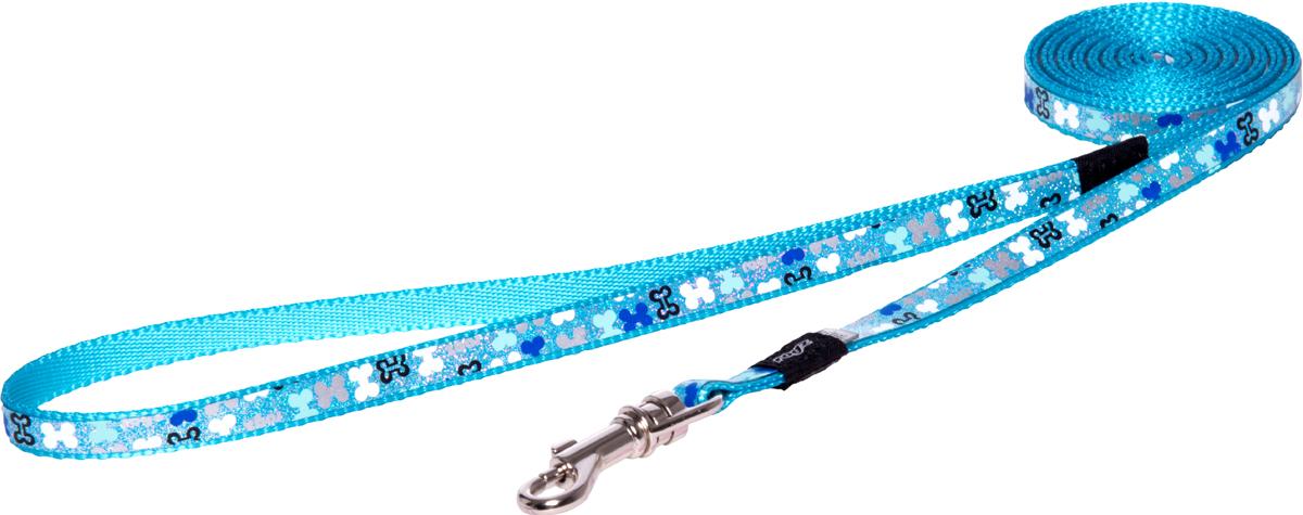 Поводок для собак Rogz Trendy, удлиненный, ширина 0,8 см. Размер XS. HLL520B0120710Веселый и яркий дизайн.Прочность и гибкость.Светоотражающие материалы для обеспечения лучшей видимости собаки в темное время суток.Материалы: 100 % полиэстер, полиуретан,металл, пластик. Полотно: 100% полиэстер, полиуретан. Пряжка: металл, пластик