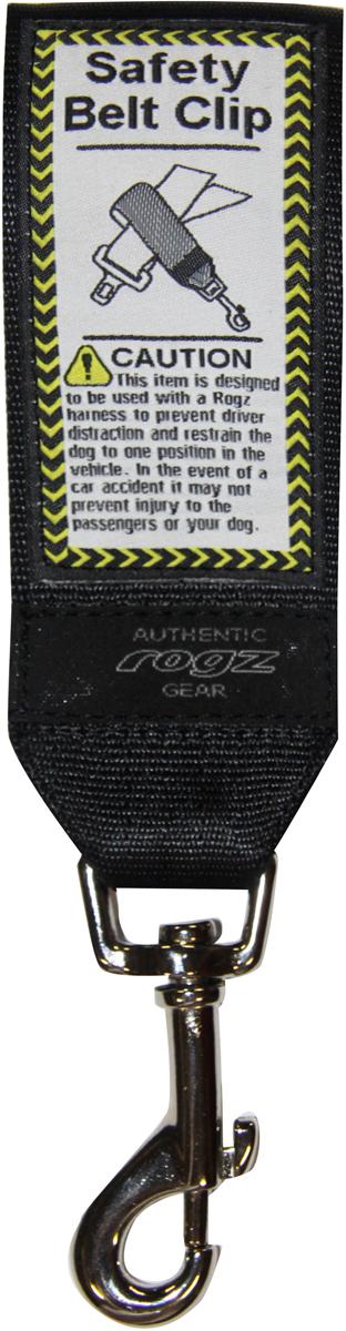 Ремень безопасности для собак Rogz Utility, цвет: черный, ширина 4,5 см21395599Ремень безопасности для животных Rogz Utility легок в применении.Ремень обеспечит собаке комфорт.Долговечность использования. Материал пряжек: цинковое литье под давлением.Полотно: нейлоновая тесьма.