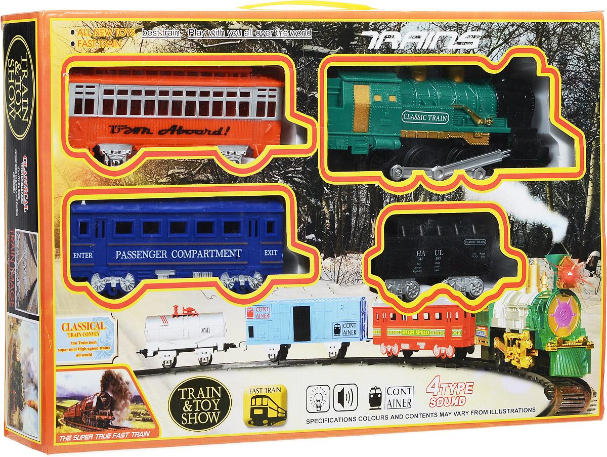 Yako Железная дорога Останови крушение цвет локомотива зеленый - Железные дороги