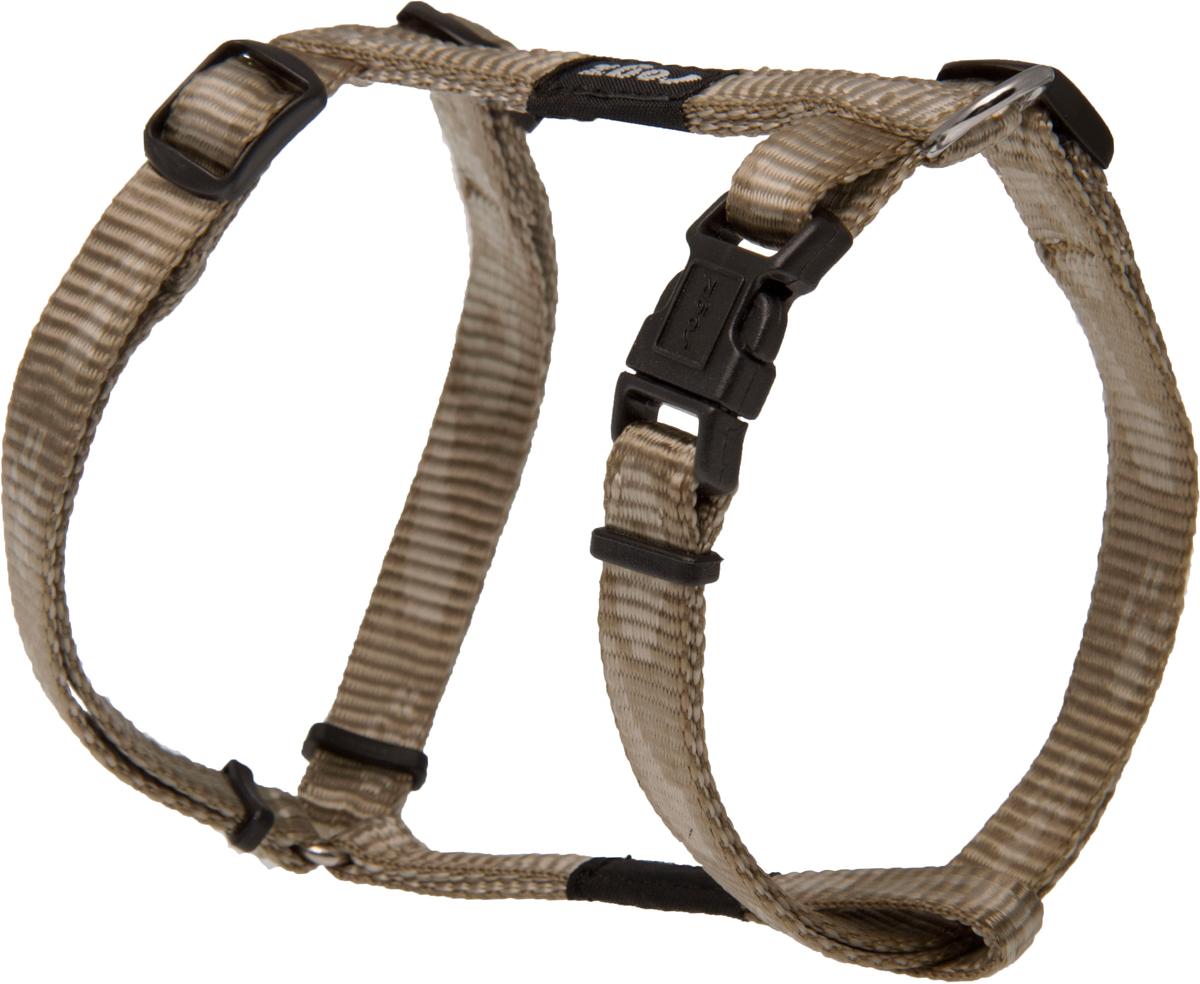 Шлейка для собак Rogz Alpinist, цвет: золотистый, ширина 1,1 см. Размер S0120710Особо мягкая, но очень прочная шлейка для собак Rogz Alpinist обеспечит безопасность на прогулке даже самым активным собакам.Все соединения деталей имеют специальную дополнительную строчку для большей прочности.Специальная конструкция пряжки Rog Loc - очень крепкая (система Fort Knox). Замок может быть расстегнут только рукой человека. Технология распределения нагрузки позволяет снизить нагрузку на пряжки, изготовленные из титанового пластика, с помощью правильного и разумного расположения грузовых колец, благодаря чему, даже при самых сильных рывках, изделие не рвется и не деформируется.Выполненные специально по заказу Rogz литые кольца гальванически хромированы, что позволяет избежать коррозии и потускнения изделия.