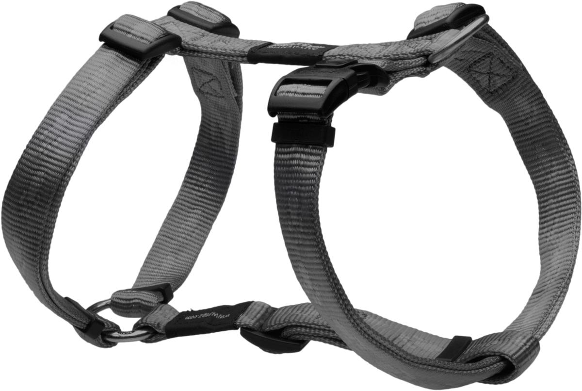 Шлейка для собак Rogz Alpinist, цвет: серый, ширина 2 см. Размер LSJ25LОсобо мягкая, но очень прочная шлейка для собак Rogz Alpinist обеспечит безопасность на прогулке даже самым активным собакам.Все соединения деталей имеют специальную дополнительную строчку для большей прочности.Специальная конструкция пряжки Rog Loc - очень крепкая (система Fort Knox). Замок может быть расстегнут только рукой человека. Технология распределения нагрузки позволяет снизить нагрузку на пряжки, изготовленные из титанового пластика, с помощью правильного и разумного расположения грузовых колец, благодаря чему, даже при самых сильных рывках, изделие не рвется и не деформируется.Выполненные специально по заказу Rogz литые кольца гальванически хромированы, что позволяет избежать коррозии и потускнения изделия.