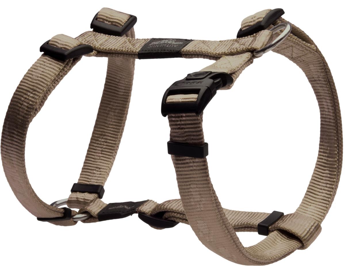 Шлейка для собак Rogz Alpinist, цвет: золотистый, ширина 2 см. Размер L0120710Особо мягкая, но очень прочная шлейка для собак Rogz Alpinist обеспечит безопасность на прогулке даже самым активным собакам.Все соединения деталей имеют специальную дополнительную строчку для большей прочности.Специальная конструкция пряжки Rog Loc - очень крепкая (система Fort Knox). Замок может быть расстегнут только рукой человека. Технология распределения нагрузки позволяет снизить нагрузку на пряжки, изготовленные из титанового пластика, с помощью правильного и разумного расположения грузовых колец, благодаря чему, даже при самых сильных рывках, изделие не рвется и не деформируется.Выполненные специально по заказу Rogz литые кольца гальванически хромированы, что позволяет избежать коррозии и потускнения изделия.