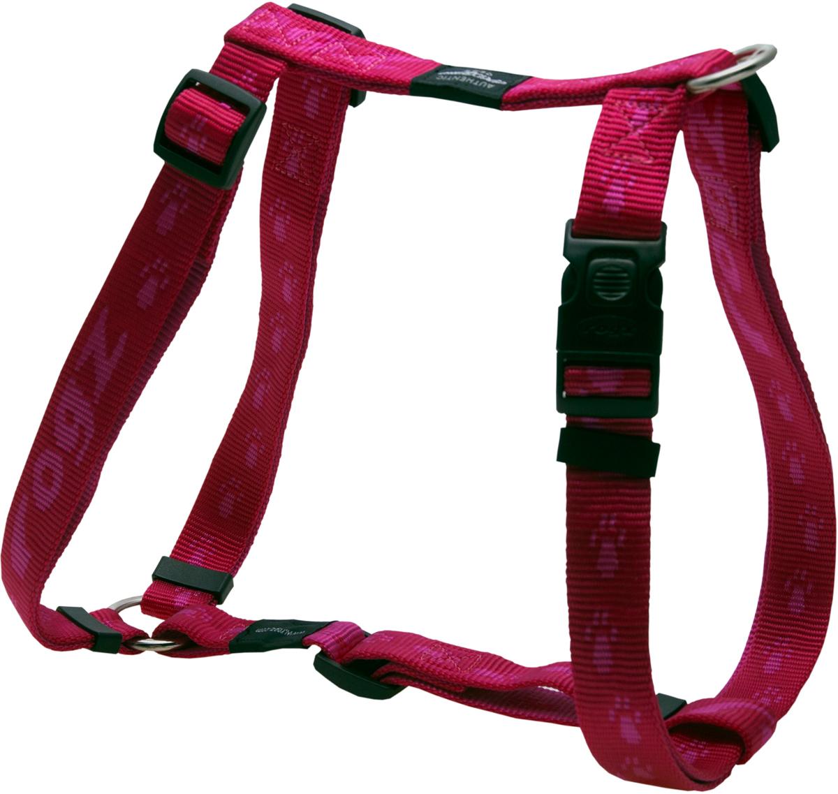 Шлейка для собак Rogz Alpinist, цвет: розовый, ширина 2,5 см. Размер XL0120710Особо мягкая, но очень прочная лента обеспечит безопасность на прогулке даже самым активным собакам.Все соединения деталей имеют специальную дополнительную строчку для большей прочности.Специальная конструкция пряжки Rog Loc - очень крепкая (система Fort Knox). Замок может быть расстегнут только рукой человека.Технология распределения нагрузки позволяет снизить нагрузку на пряжки, изготовленные из титанового пластика, с помощью правильного и разумного расположения грузовых колец, благодаря чему, даже при самых сильных рывках, изделие не рвется и не деформируется.Выполненные специально по заказу ROGZ литые кольца гальванически хромированы, что позволяет избежать коррозии и потускнения изделия. Полотно: нейлоновая тесьма. Пряжки: ацетиловый пластик. Кольца: цинковое литье.
